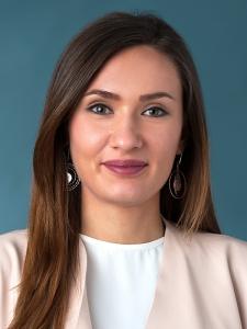 Geomatikerin Edina Cehic
